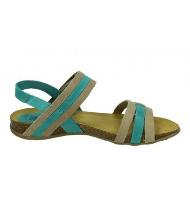 Sandalia de Mujer INTERBIOS Beige 4470