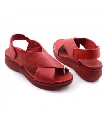 Sandalia de Mujer WEEKEND Rojo 12234 Butero