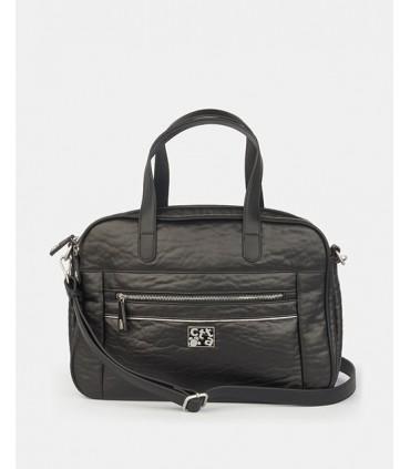 Bolso Porta Ordenador Caminatta W9507 Negro