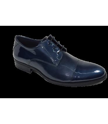 Zapato Hombre Vestir BAERCHI Azul.