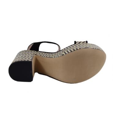 Sandalia de Mujer ESTAFANIA MARCO Rafia E5057